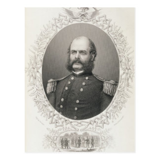 Major General Ambrose Everett Burnside Postcard