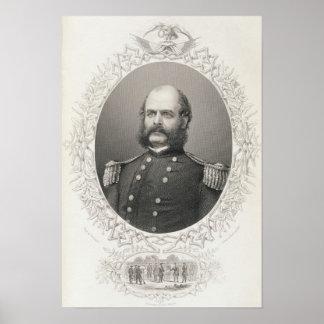 Major General Ambrose Everett Burnside Poster