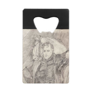 Major General Andrew Jackson Wallet Bottle Opener