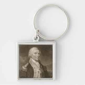 Major General Arthur St. Clair, engraved by Edward Keychain