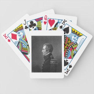 Major General Edmund Pendleton Gaines (1777-1849) Bicycle Playing Cards
