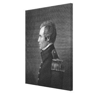 Major General Edmund Pendleton Gaines (1777-1849) Canvas Print