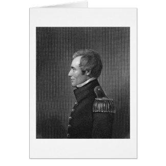 Major General Edmund Pendleton Gaines (1777-1849) Card