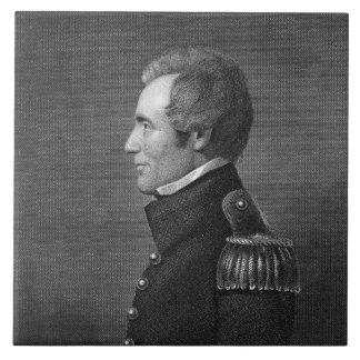 Major General Edmund Pendleton Gaines (1777-1849) Ceramic Tile
