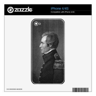 Major General Edmund Pendleton Gaines (1777-1849) Decal For iPhone 4