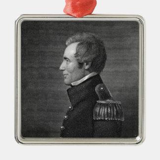 Major General Edmund Pendleton Gaines (1777-1849) Metal Ornament