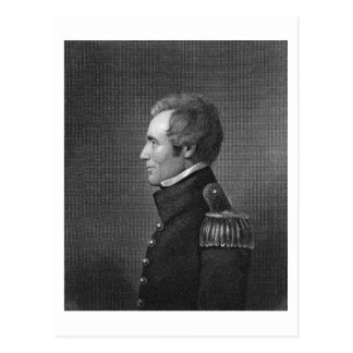 Major General Edmund Pendleton Gaines (1777-1849) Postcard