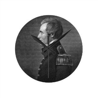 Major General Edmund Pendleton Gaines (1777-1849) Round Clock