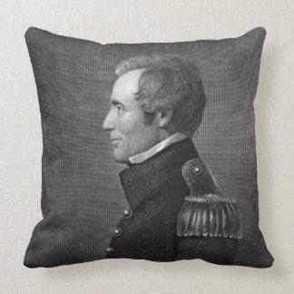 Major General Edmund Pendleton Gaines (1777-1849) Throw Pillow