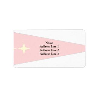 Major General, Germany flag Address Label