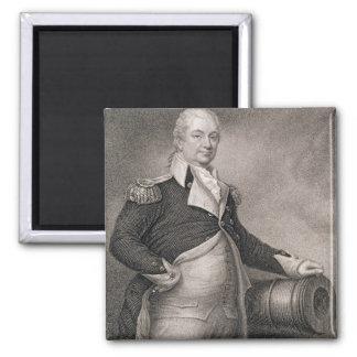 Major General Henry Knox (1750-1806) engraved by J Refrigerator Magnets