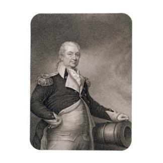 Major General Henry Knox (1750-1806) engraved by J Vinyl Magnets