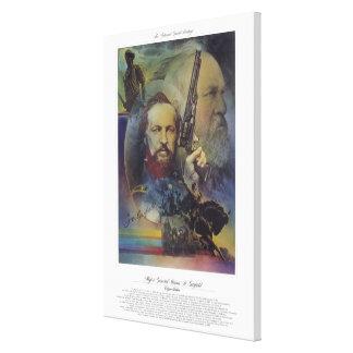 MAJOR GENERAL JAMES A. GARFIELD Citizen Soldier Canvas Print