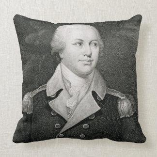 Major General Nathaniel Greene (1742-86), engraved Pillows