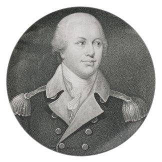 Major General Nathaniel Greene (1742-86), engraved Plate