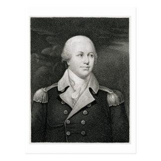 Major General Nathaniel Greene (1742-86), engraved Postcard