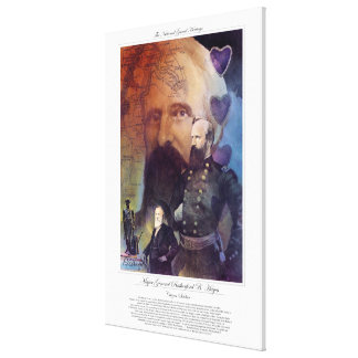MAJOR GENERAL RUTHERFORD B. HAYNES Citizen Soldier Canvas Print