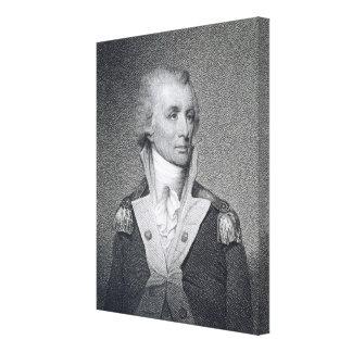 Major General Thomas Sumter (1734-1832) engraved b Canvas Print