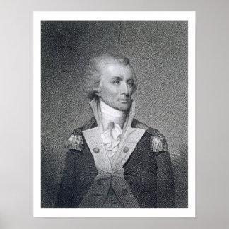 Major General Thomas Sumter (1734-1832) engraved b Poster
