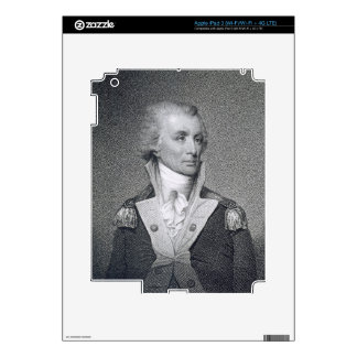 Major General Thomas Sumter (1734-1832) engraved b iPad 3 Skin