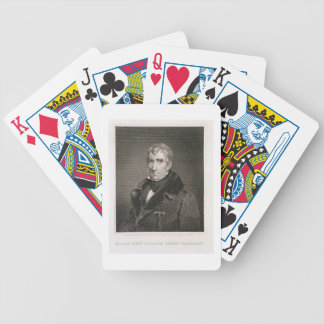Major General William Henry Harrison, engraved by Bicycle Playing Cards