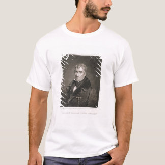 Major General William Henry Harrison, engraved by T-Shirt