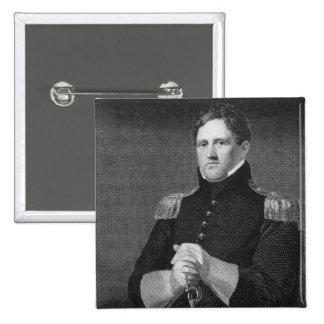 Major General Winfield Scott (1786-1866) engraved Pins