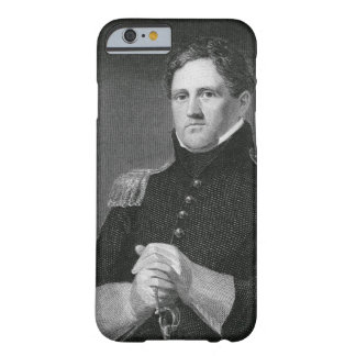 Major General Winfield Scott (1786-1866) engraved Barely There iPhone 6 Case