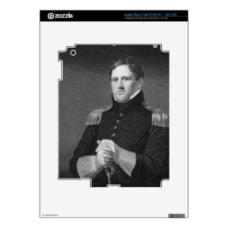 Major General Winfield Scott (1786-1866) engraved Decal For iPad 3