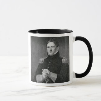Major General Winfield Scott (1786-1866) engraved Mug