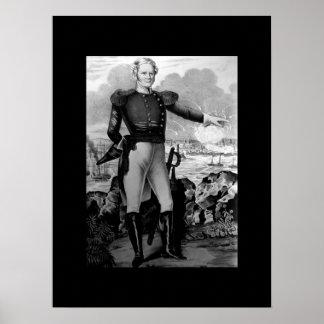 Major General Winfield Scott at Vera Cruz_War  Ima Poster