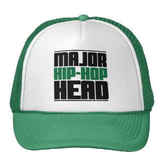 Major Hip Hop Head Green Hat