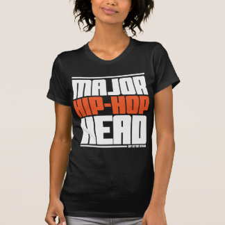 Major Hip Hop Head Orange T-Shirt