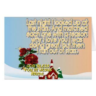 Major Holidays Christmas Card