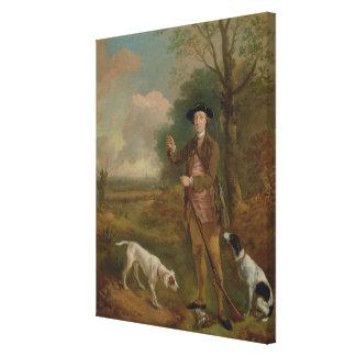 Major John Dade (1726-1811) of Tannington, Suffolk Canvas Print