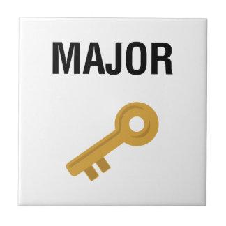 Major Key Tile
