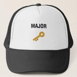 Major Key Trucker Hat