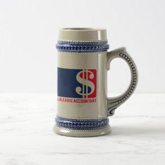 Major League Accountant Beer Stein