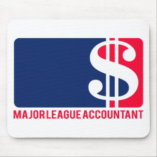 Major League Accountant Mouse Mats