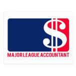 Major League Accountant Postcard