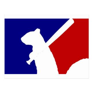 Major League Angry! Postcard
