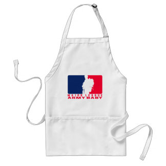 Major League Army Baby Adult Apron