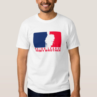Major League Army Brother T Shirt