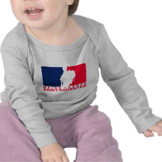 Major League Army Daughter T Shirt