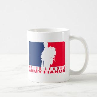 Major League Army Fiance Coffee Mug