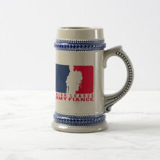 Major League Army Fiance Mugs