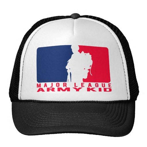 Major League Army Kid Hats