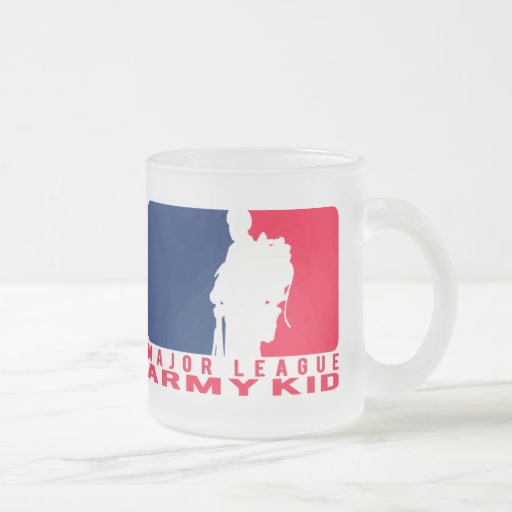 Major League Army Kid Coffee Mugs