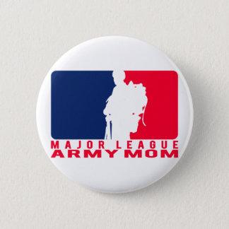 Major League Army Mom Button