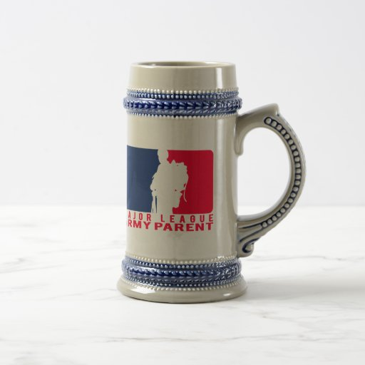 Major League Army Parent 18 Oz Beer Stein